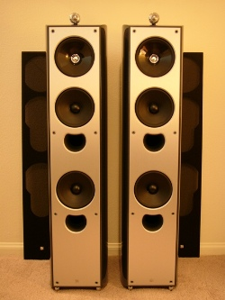 Kef XQ5 (pair) and XQ2C Center Channel